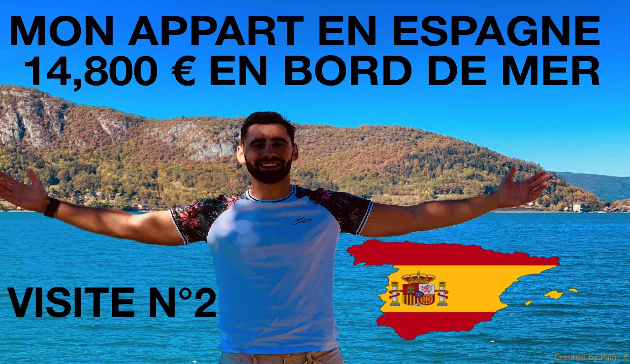 Comment acheter un appartement à 14,800€ en Espagne ? visite 2